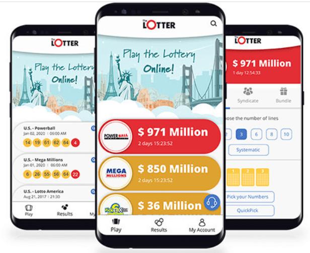 LottoSmile on Phone