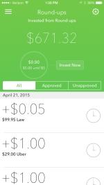 Acorns money making app