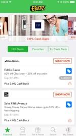 Ebates money making app
