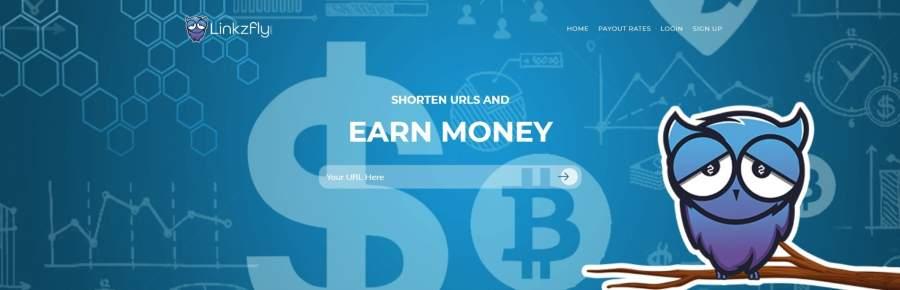 linkzfly URL shortening online job