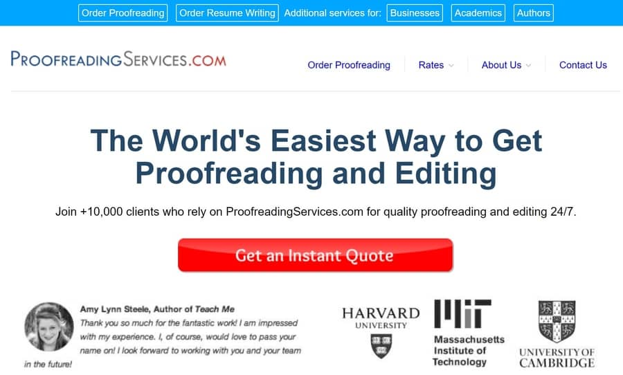 ways to make money from home proofreadingservices