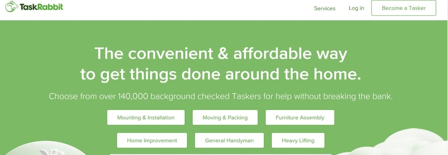 Get cash now with Taskrabbit
